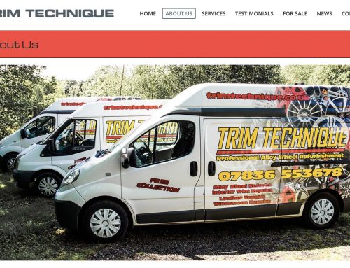Trim Technique – exciting update to their website