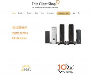 e-shop launch